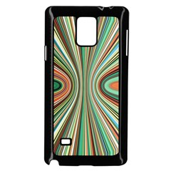 Colorful Spheric Background Samsung Galaxy Note 4 Case (Black)