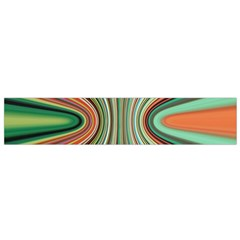 Colorful Spheric Background Flano Scarf (Small)