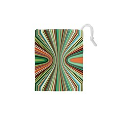 Colorful Spheric Background Drawstring Pouches (XS)