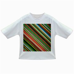 Colorful Stripe Background Infant/toddler T Shirts