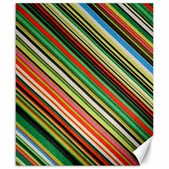 Colorful Stripe Background Canvas 20  X 24