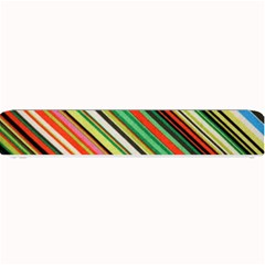 Colorful Stripe Background Small Bar Mats