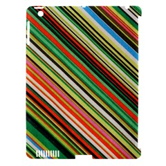 Colorful Stripe Background Apple iPad 3/4 Hardshell Case (Compatible with Smart Cover)