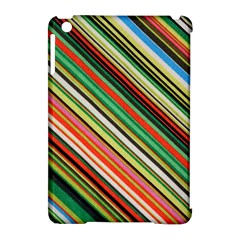 Colorful Stripe Background Apple iPad Mini Hardshell Case (Compatible with Smart Cover)