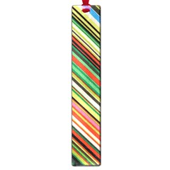Colorful Stripe Background Large Book Marks