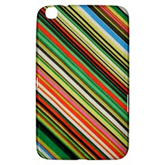Colorful Stripe Background Samsung Galaxy Tab 3 (8 ) T3100 Hardshell Case