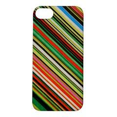 Colorful Stripe Background Apple iPhone 5S/ SE Hardshell Case