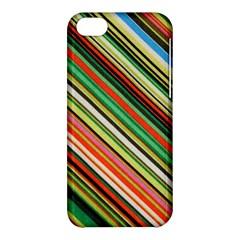 Colorful Stripe Background Apple iPhone 5C Hardshell Case