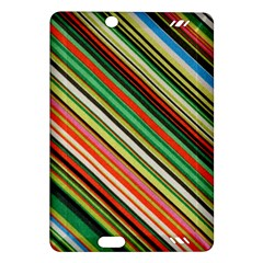 Colorful Stripe Background Amazon Kindle Fire HD (2013) Hardshell Case