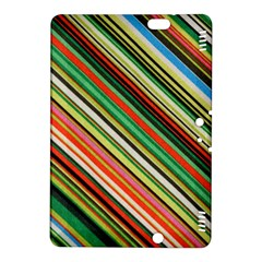 Colorful Stripe Background Kindle Fire HDX 8.9  Hardshell Case