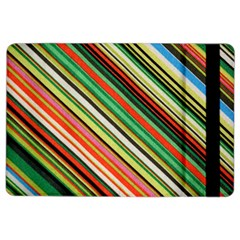 Colorful Stripe Background iPad Air 2 Flip