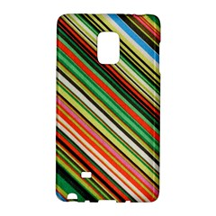 Colorful Stripe Background Galaxy Note Edge