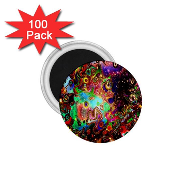 Alien World Digital Computer Graphic 1.75  Magnets (100 pack)