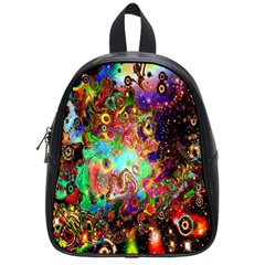 Alien World Digital Computer Graphic School Bags (small)