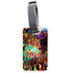 Alien World Digital Computer Graphic Luggage Tags (two Sides)