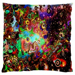 Alien World Digital Computer Graphic Large Cushion Case (Two Sides)
