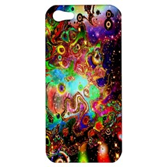 Alien World Digital Computer Graphic Apple Iphone 5 Hardshell Case