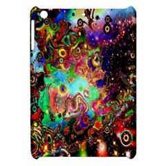 Alien World Digital Computer Graphic Apple iPad Mini Hardshell Case