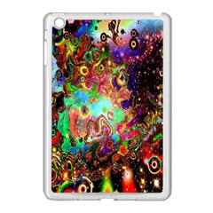 Alien World Digital Computer Graphic Apple iPad Mini Case (White)
