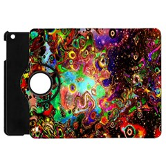 Alien World Digital Computer Graphic Apple iPad Mini Flip 360 Case