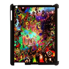 Alien World Digital Computer Graphic Apple iPad 3/4 Case (Black)