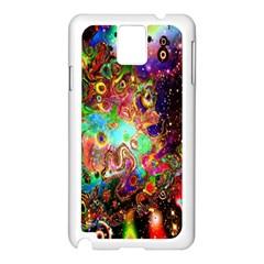 Alien World Digital Computer Graphic Samsung Galaxy Note 3 N9005 Case (White)
