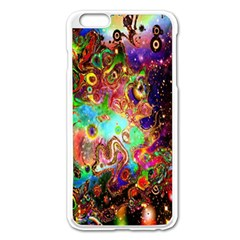 Alien World Digital Computer Graphic Apple iPhone 6 Plus/6S Plus Enamel White Case