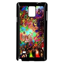 Alien World Digital Computer Graphic Samsung Galaxy Note 4 Case (Black)