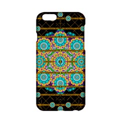 Gold Silver And Bloom Mandala Apple Iphone 6/6s Hardshell Case