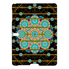 Gold Silver And Bloom Mandala Samsung Galaxy Tab S (10 5 ) Hardshell Case