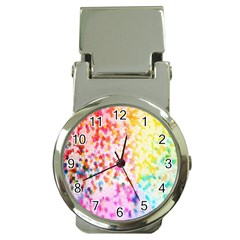Colorful Colors Digital Pattern Money Clip Watches