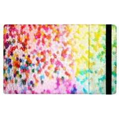 Colorful Colors Digital Pattern Apple iPad 3/4 Flip Case