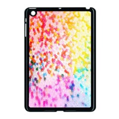 Colorful Colors Digital Pattern Apple iPad Mini Case (Black)