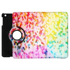 Colorful Colors Digital Pattern Apple iPad Mini Flip 360 Case