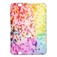 Colorful Colors Digital Pattern Kindle Fire HD 8.9