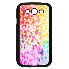 Colorful Colors Digital Pattern Samsung Galaxy Grand DUOS I9082 Case (Black)