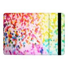 Colorful Colors Digital Pattern Samsung Galaxy Tab Pro 10.1  Flip Case