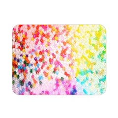 Colorful Colors Digital Pattern Double Sided Flano Blanket (mini)