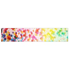 Colorful Colors Digital Pattern Flano Scarf (Small)