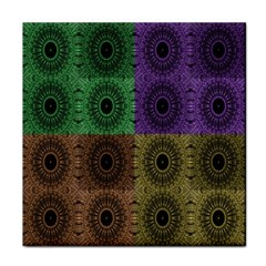 Creative Digital Pattern Computer Graphic Tile Coasters