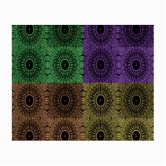 Creative Digital Pattern Computer Graphic Small Glasses Cloth