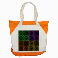 Creative Digital Pattern Computer Graphic Accent Tote Bag