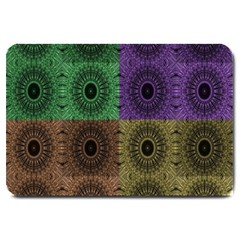 Creative Digital Pattern Computer Graphic Large Doormat
