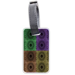 Creative Digital Pattern Computer Graphic Luggage Tags (one Side)