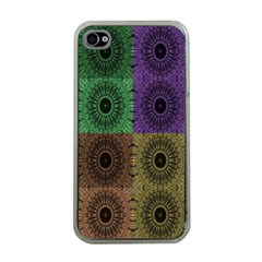 Creative Digital Pattern Computer Graphic Apple iPhone 4 Case (Clear)