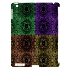 Creative Digital Pattern Computer Graphic Apple iPad 3/4 Hardshell Case (Compatible with Smart Cover)