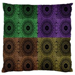 Creative Digital Pattern Computer Graphic Large Cushion Case (One Side)