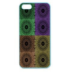 Creative Digital Pattern Computer Graphic Apple Seamless iPhone 5 Case (Color)