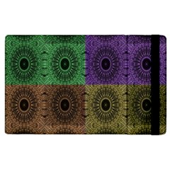 Creative Digital Pattern Computer Graphic Apple iPad 2 Flip Case