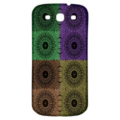 Creative Digital Pattern Computer Graphic Samsung Galaxy S3 S III Classic Hardshell Back Case